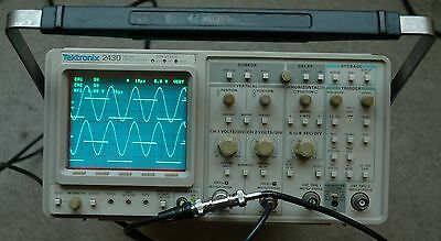 Tektronix 2430 150 Mhz Digital Oscilloscopecalibratedworks Great Snb010455