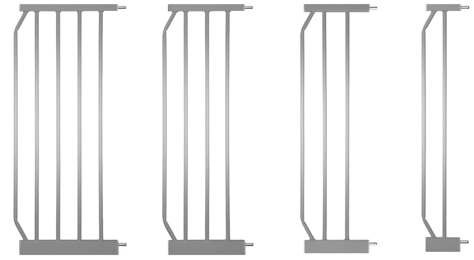 Erweiterungen: Tür- & Treppengitter MIKA SILBER Verlängerung Y-Adapter U-Profil