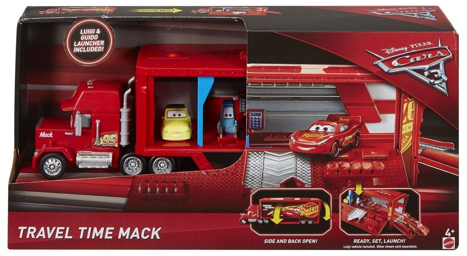 Disney Cars 3 Travel Time Mack Playset Pixar