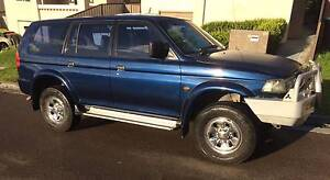 1999 Mitsubishi Challenger 4X4 4WD Wagon Mayfield West Newcastle Area Preview