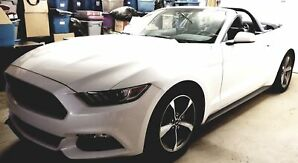 * 2017 FORD MUSTANG CONVERTIBLE WITH ROLL / LIGHT BAR , CONVERTIBLE, -REARVIEW CAMREA  -SPORT MODE