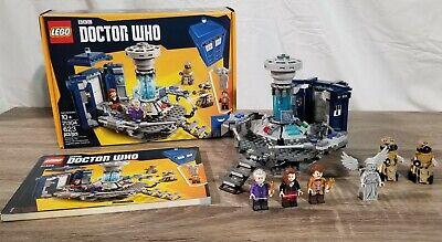 USED Lego Ideas Doctor Who Set