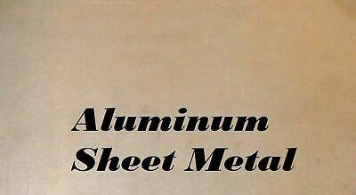 9 X 12 Piece Of Aluminum Sheet Metalplate .188 316 Thick 5 Gauge
