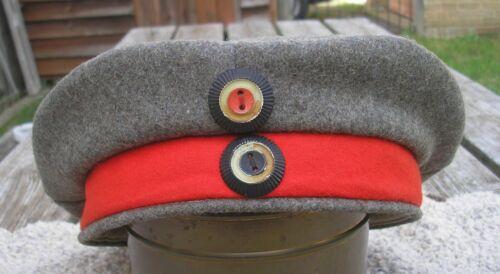 WW1 Military Imperial German FELDMUTZE Soft Cap JR49 Stamped 1918-Super Origin