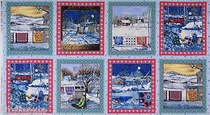 17,00 €/m Quilts Winter Panel Winter Quilts Patchwork 60x110 cm