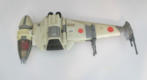 Vintage Star Wars Return Of The Jedi B-Wing Fighter - 1984 Kenner - With Pilot