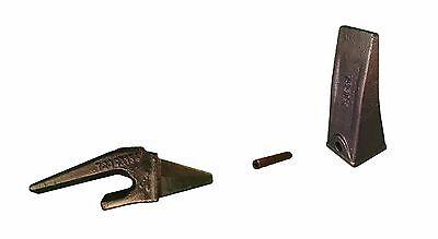 1 - Mini Excavator Bucket Tooth Weld-on Shank Pin - X156l T230x156 P156