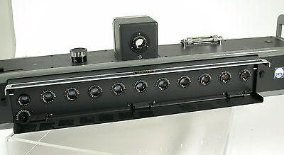 KONAN Minolta Camera Laboratory prototype 3D stereo Toppan 11 lenses Rokkor 75mm