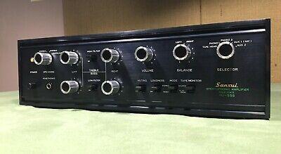Sansui AU-555 Integrated Amplifier - Fully Restored Audiophile Classic