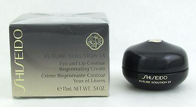 Shiseido Future Solution LX Eye and Lip Contour Regenerating Cream 0.54 oz NEW