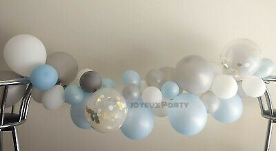 DIY Balloon Garland Arch Party Kit, Boy Baby Shower, Boy Birthday, Elephant Idea](Boy Birthday Party Ideas)