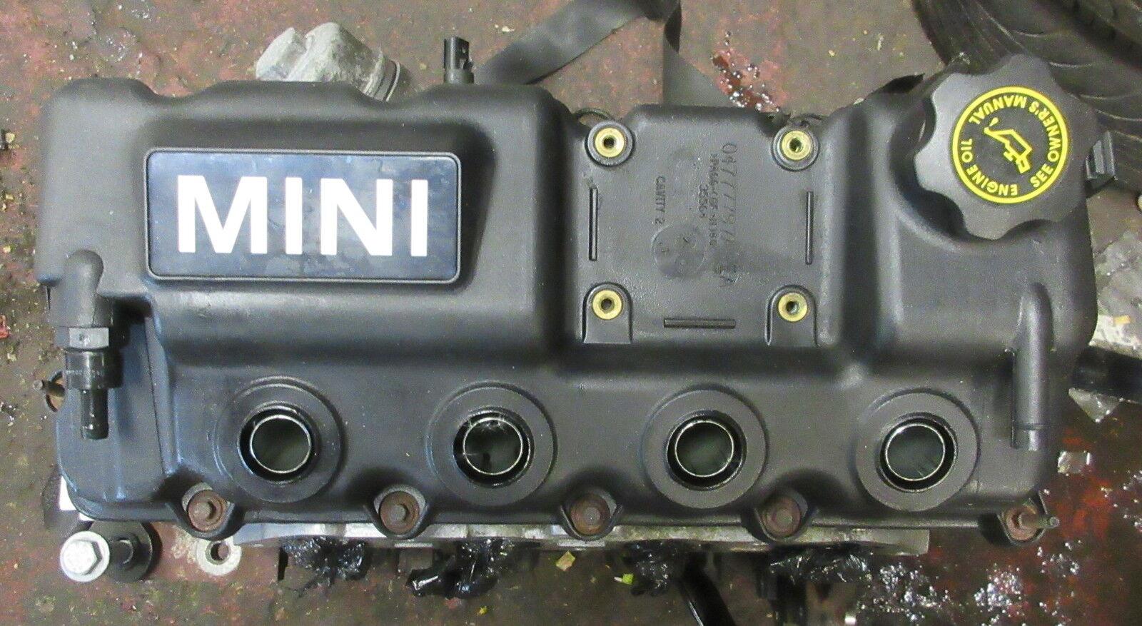 MINI Used R50 R52 (Cooper & One) Petrol Engine  W10 B16 1.6 (2000 - 2006) 62,000