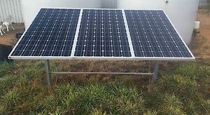 Solar panels (3) plus tilting frame Swanpool Benalla Area Preview