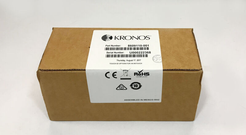 Kronos 8609110-001 Touch ID Biometric Option for InTouch H4
