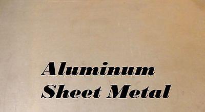 2 Pieces Of 8 X 8 Aluminum Sheet Metal .12518 Thick 8 Gauge