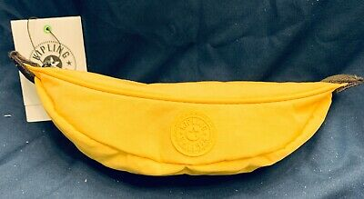 NWT Kipling Banana Pencil Case Retail $22