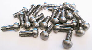 BA Steel Threaded Rivets / Screws Without Slots / Loco/ Traction Engine (25pk)