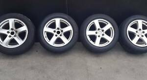 Secondhand Holden Commodore VY VX VZ 17 inch Wheels + Tyres Doncaster East Manningham Area Preview