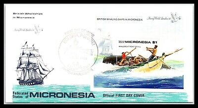 GP GOLDPATH: MICRONESIA COVER 1990 FIRST DAY COVER _CV677_P14