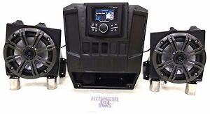 Polaris Ranger XP 900 / 1000 Audio Radio Kit - Rockford - Kicker - 3 Year Warr