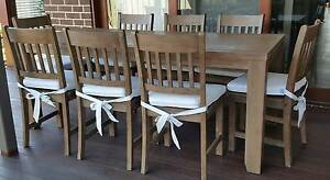 9 Piece Australian Made Timber Dining Set Cranbourne West Casey Area Preview