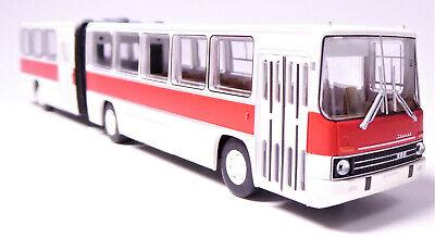 H0 BREKINA Ikarus 280.03 Gelenkbus Überlandbus 2 Türen weiß rot von 1976 # 59754 online kaufen