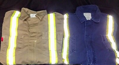 Carhartt FR Tags Patches stitch on FLAME RESISTANT NFPA 2112 arc2 100/% ORIGINAL!