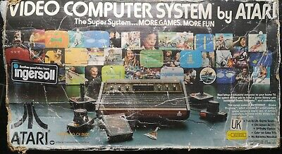 Atari 2600 Video Computer System - Woody Light Sixer - Boxed With 6 Games