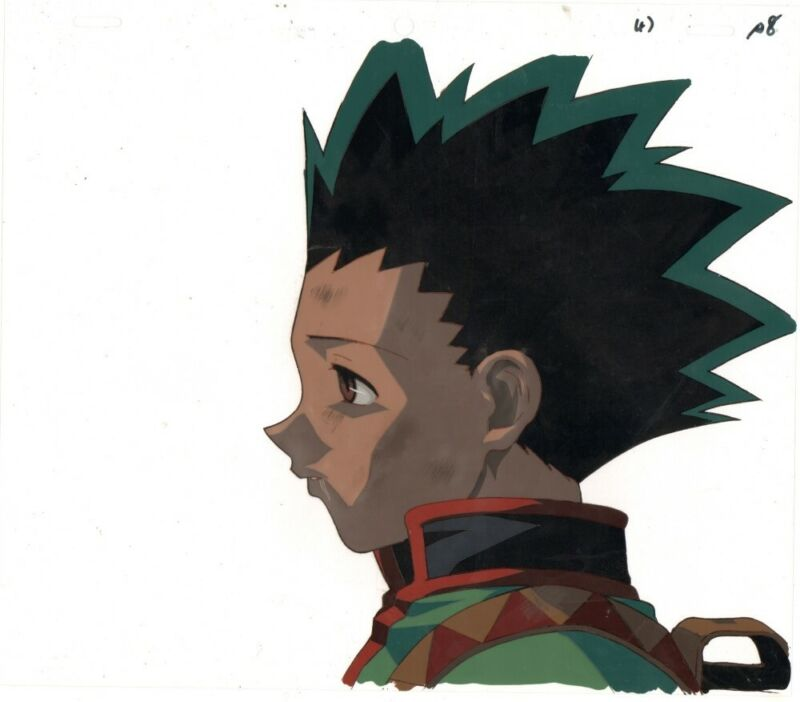 Anime Cel Hunter X Hunter #206