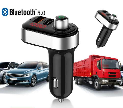 Bluetooth Wireless USB Car Charger FM Transmitter MP3 Player