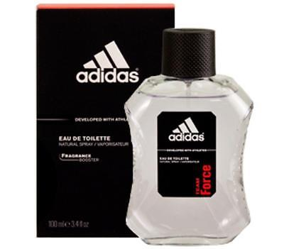 Adidas Mens Edt Spray - Adidas TEAM FORCE Cologne for Men 3.4 oz edt 3.3 spray New in BOX