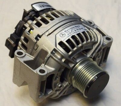 GENUINE MERCEDES C E CLK SLK CLC CLASS 18 BOSCH 120A ALTERNATOR A2711540802