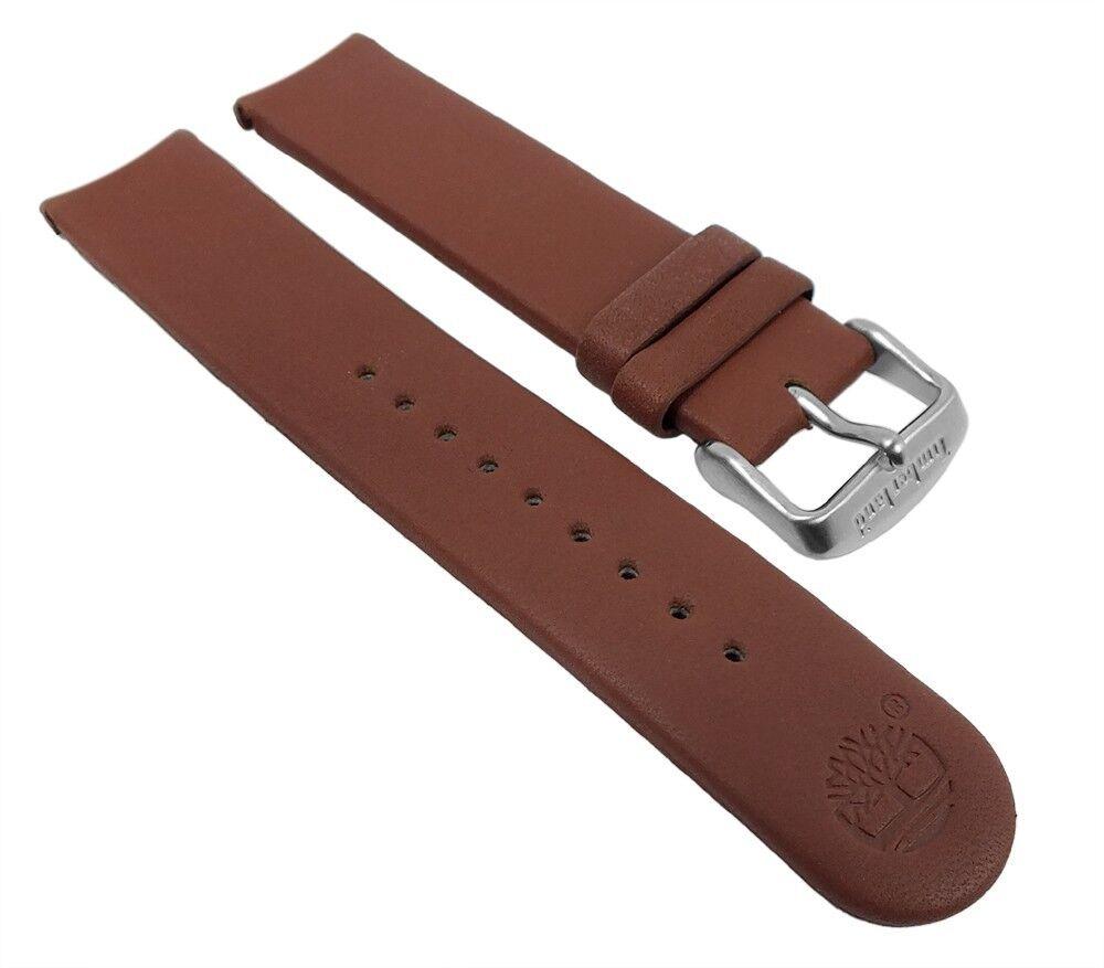 Ersatzband Leder braun für Timberland Uhren Rundanstoß 12518G - 28123