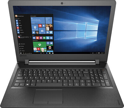 Lenovo 15.6in Gaming LAPTOP 2.4Ghz with 8GB 1TB DVD/RW Webcam Win 10 Black