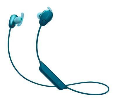 Sony WI-SP600N Wireless Sport Headphones Bluetooth Noise Canceling NC 600N Blue