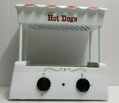 Nostalgia Electrics Old Fashioned Hot Dogs Roller W Bun Warmer Model Hdr-565