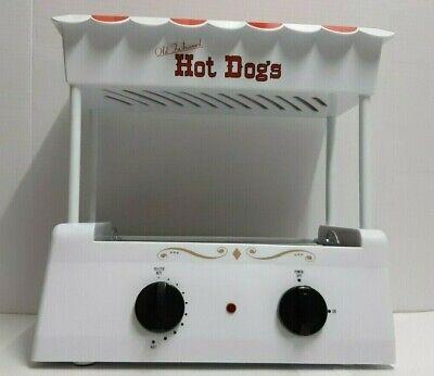 Nostalgia Electrics Old Fashioned Hot Dogs Roller W Bun Warmer Model Hdr-565