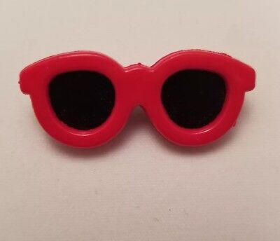 Vintage Popular 1980's Red Sunglasses old Plastic or Acrylic pin Childeren Kids](Popular Kids Costumes)