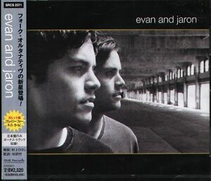 Evan and Jaron - Evan and Jaron - Japan CD+1BONUS - NEW - 13Tracks