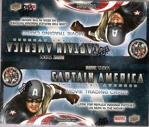 Marvel Captain America Trading Cards 16-Pack Box ( UD 2011)