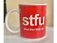 Shut the f#ck up mug