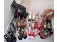 Selection of Boots and Shoes in VGC sizes 39 & 40