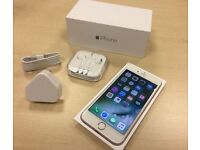 Rose Gold Apple iPhone 6s 16GB On Vodafone / Lebara Networks Mobile Phone / Boxed + Warranty