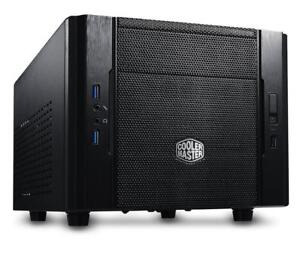 NEW Cooler Master Elite 130 - Mini-ITX Computer Case with Mesh Front Panel and Water