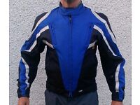Frank Thomas motorbike short bomber jacket, size M, used but still life yet, cheap to clear