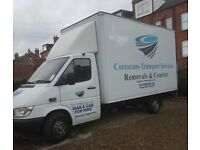 Professional Man and Luton Van Hire House Removals F single items 2 ,3 seater sofa double bed ect