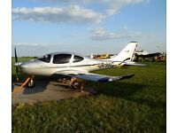 a light aircraft LA 50 for sale. 5 seats, Power (max) 125 h.p. Maximum take-off weight 950 kg.