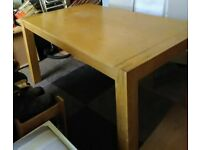 Pine Dining Table & 4 x Chairs