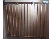 Wooden safety gates