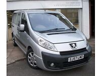 9 SEATERS PEUGEOT EXPERT TEPEE,6 SPEED MANUAL DIESEL,PCO LICENSED,FULL HISTORY,WHEELCHAIR ACCESS,